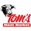 Basket of goodies from Tom's Meat Market. Donated by Nicole Smith and Tom's Market.